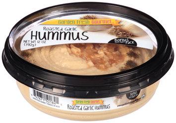 Garden Fresh Gourmet® Roasted Garlic Hummus 12 oz. Tub