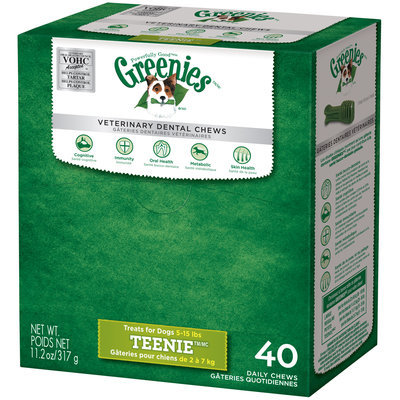 Greenies® Teenie™ Dog Dental Daily Chews 11.2 oz. Package