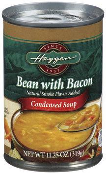 Haggen Bean W/Bacon Condensed Soup 11.25 Oz Can