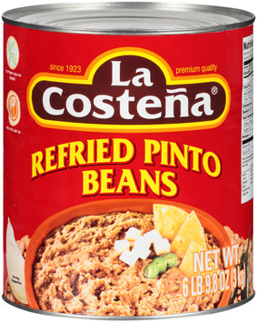 La Costena® Refried Pinto Beans 105.8 oz. Can