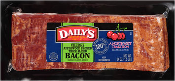 Daily's® Cherry Applewood Smoked Thick Sliced Bacon 24 oz. Pack