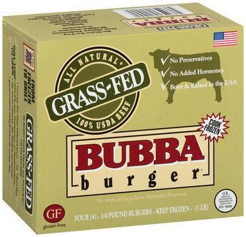 Bubba Burger® 1/4 Pound Burgers 16 oz. Box
