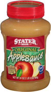 Stater Bros.® Original Applesauce 24 oz. Jar