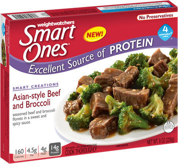Weightwatchers SmartOnes® Smart Creations Asian-Style Beef and Broccoli 8 oz. Box