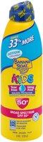 Banana Boat® Lotion UltraMist® Kids Tear Free Sting Free Sunscreen Broad Spectrum SPF 50+ 8 oz. Can
