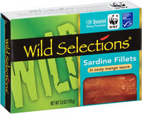Wild Selections® Sardine Fillets in Zesty Mango Sauce 3.8 oz. Box