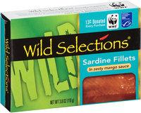 Wild Selections® Sardine Fillets in Zesty Mango Sauce 3.8 oz. Box