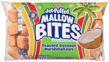 Kraft Jet-Puffed Mallow Bites Toasted Coconut Marshmallows 8 oz. Bag