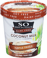 So Delicious® Coconut Milk Turtle Trails Non-Dairy Frozen Desert 1 pt. Tub