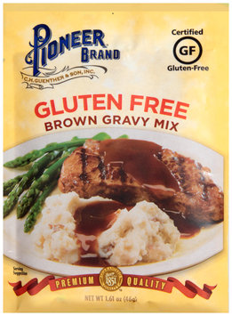 Pioneer Brand® Gluten Free Brown Gravy Mix 1.61 oz. Packet