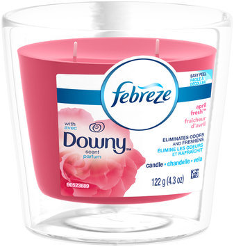 Candle Febreze Candle with Downy April Fresh Scent Air Freshener (1 Count, )