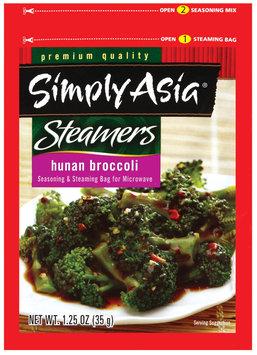 Simply Asia Steamers Hunan Broccoli Dry Seasoning Mixes 1.25 Oz Packet