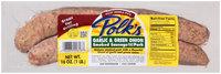 Polk's® Garlic & Green Onion Smoked Sausage 16 oz. Pack