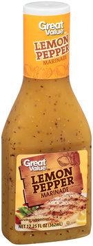 Great Value™ Lemon Pepper Marinade 12.25 fl. oz. Plastic Bottle
