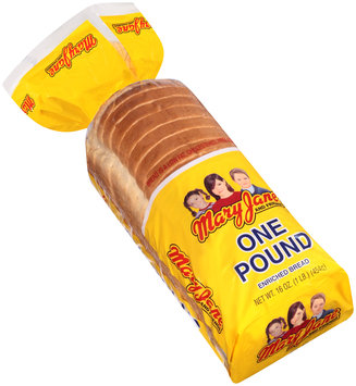 mary jane and friends® one pound bread