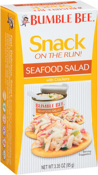Bumble Bee® Ready to Eat Seafood Salad with Crackers 3.35 oz. Box