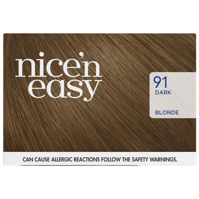 Clairol Nice 'n Easy Non-Permanent 91 Dark Blonde Hair Color Kit