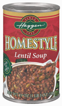 Haggen Homestyle Chicken W/Rice Soup 19 Oz Can