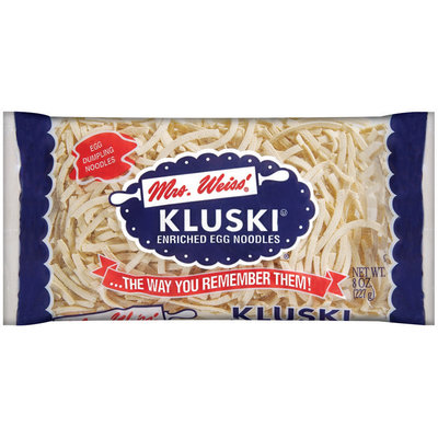 Mrs Weiss' Kluski Egg Noodles 8 Oz Bag