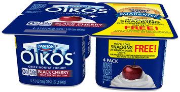 Oikos® Black Cherry Greek Yogurt 4-5.3 oz. Cups