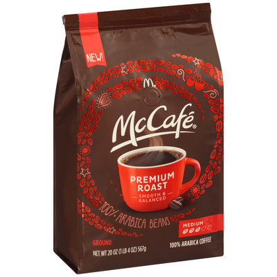 McCafe® Premium Roast Ground Coffee 20 oz. Bag