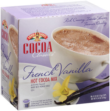 Land O'Lakes® Cocoa Classics® French Vanilla Hot Cocoa Mix 9.54 oz. Box