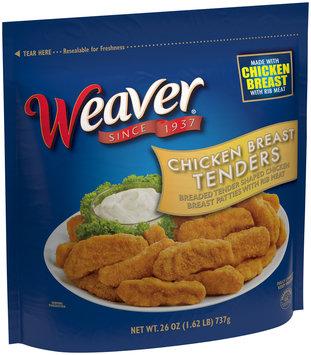 Weaver® Chicken Breast Tenders 26 oz. Bag