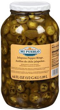 Mi Pueblo® Jalapeno Pepper Rings 64 fl. oz. Battle