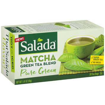 Salada® Pure Green Matcha Tea Blend 1.41 oz. Box