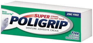 Super Poligrip® Free Denture Adhesive Cream Box