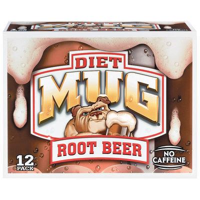 Mug® Diet Root Beer 12 Pack 12 fl. oz. Cans