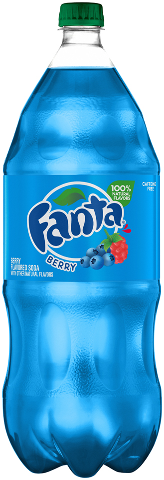 Fanta® Berry Soda 2L Plastic Bottle
