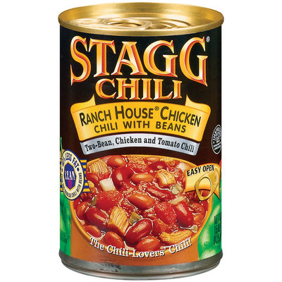 STAGG CHILI Ranch House Chicken W/Beans Chili 15 OZ CAN