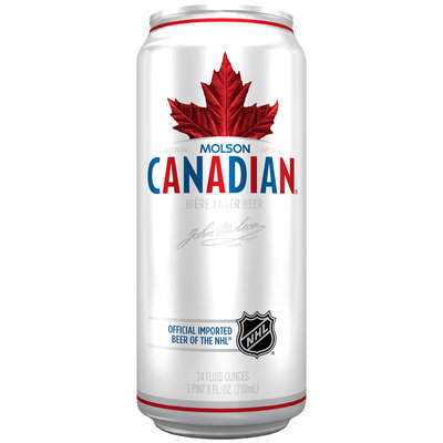 Molson Canadian® Beer 24 fl. oz. Can