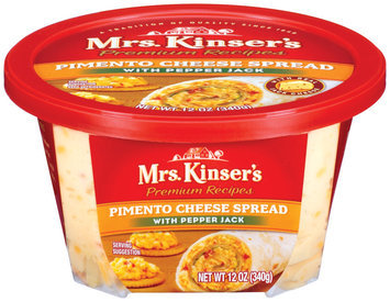 Mrs. Kinser's Pimento W/Pepper Jack Cheese Spread 12 Oz Tub