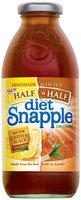 Snapple Lemonade Diet Iced Tea 16 Oz Glass Bottle