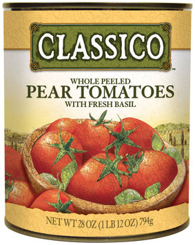 CLASSICO Pear Whole Peeled Fresh Basil Tomatoes