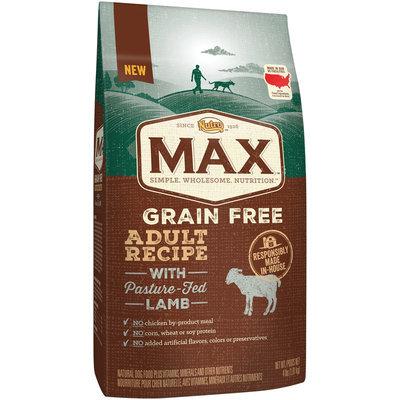 Nutro™ Max™ Grain Free Adult Recipe with Pasture-Fed Lamb Dog Food 4 lb. Bag