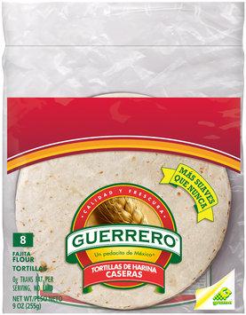 Guerrero® Fajita Flour Tortillas 9 oz. Bag