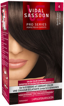 Vidal Sassoon Pro Series 4 Dark Brown Hair Color Kit