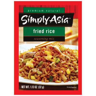 Simply Asia Fried Rice Dry Seasoning Mixes 1.13 Oz Packet