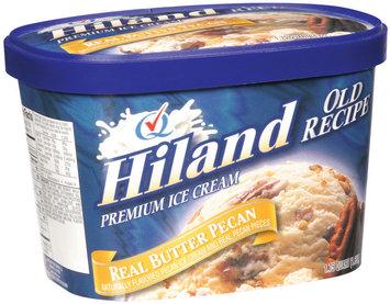 Hiland Real Butter Pecan Ice Cream Premium 1.75 Qt