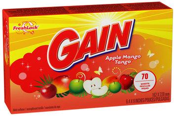 Gain with FreshLock Apple Mango Tango Dryer Sheets 70 ct Carton