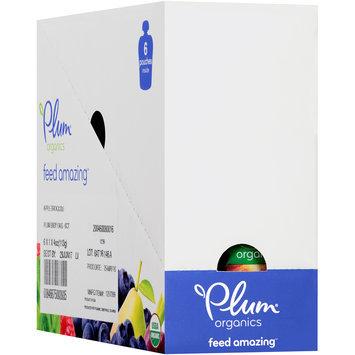 Plum® Organics Apple & Broccoli Baby Food 6-4 oz. Pouches