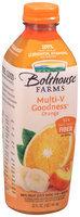 Bolthouse Farms® Multi-V Goodness™ Orange 100% Fruit Juice Smoothie + Boosts 32 fl. oz. Bottle