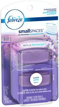 Small Spaces Febreze SmallSpaces Mediterranean Lavender Refills Air Freshener (2 Count, 11 ml)