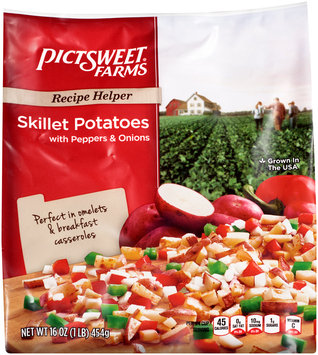 Pictsweet® Farms Skillet Potatoes with Peppers & Onions 16 oz. Bag