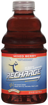 R.W. Knutsen Family® Mixed Berry Flavored Sports Drink from Concentrates 32 fl. oz.