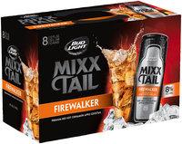 Bud Light® Mixx Tail Premium Red Hot Cinnamon Apple Cocktail 8-12 fl. oz. Slim Cans