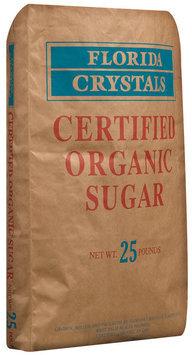 Florida Crystals Certified Organic Sugar 25 Lb Bag